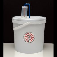 Fermenter Bucket Copper Airlock 10L